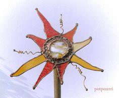 Solar Gartenstecker /  Fensterbild von Potpourri auf DaWanda.com