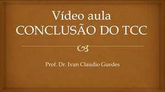 Conclusão do TCC Metodologia da Pesquisa como escrever Video Aula Tutorial