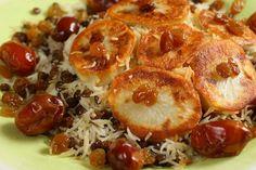 Polo Adas -   http://www.food.com/recipe/adas-polo-persian-rice-with-lentils-430878