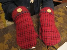 The DIY Sweater Mitten Making Mansion and Tutorial: A Blast From the Past: 2012   The Renegade Seamstress Renegade Seamstress, Work Boot Socks, Sweater Mittens, Knit Sneakers, Cool Sweaters, Some Pictures, Refashion, Make Your Own, The Past