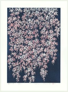 Weeping Cherry 4, 2006 by Hajime Namiki (1947 - )