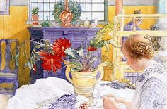 Carl Larsson art (1853-1919)