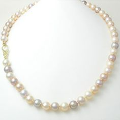 Caleb Meyer Mulit-Colored Pink Freshwater Pearl Necklace #3524