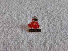 Vintage France/French Jean Alesi 1991 Formula 1 Racing pin badge #Ferrari