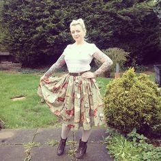 My handmade horse skirt