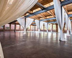 The Foundry @ Puritan Mill, Atlanta, GA: cool event space Event Room, Atlanta, Outdoor Venues, Polished Concrete, Concrete Floors, Event Venues, Event Decor, Event Design, Event Planning