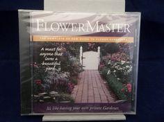 Flower Master The Complete CD-ROM Guide To Flower Gardening Educational CD-ROM  #flowermaster #flowergarden #educational #reference #guide #software #flowers #gardens #cdrom #new #bonanza