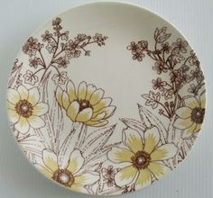 Genuine Ironstone- similar to Meadow but without the side band Side Plates, Different Patterns, Crown, Band, Tableware, Design, Corona, Sash, Dinnerware