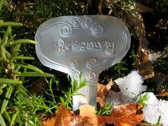 Aluminum Can Plant Markers