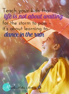 *cue* I'm singing in the rain...
