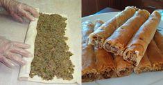 Μαμαδίστικη συνταγή για εύκολες και νόστιμες κιμαδόπιτες που θα γλείφετε τα δάχτυλά σας Kai, Bread, Food, Cakes, Cake Makers, Brot, Essen, Kuchen, Cake