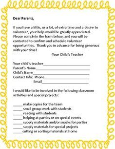 Sample room mom intro letter google search homeroom mom high school parent volunteer request letter google search spiritdancerdesigns Gallery