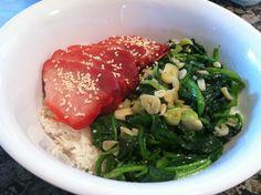 Recipe: Wok Fried Spinach with Garlic Wok Recipes, Side Dish Recipes, Asian Recipes, Side Dishes, Healthy Recipes, Ethnic Recipes, Fried Spinach, Chinese Bbq Pork, Taiwan Food
