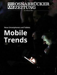 Auf der Mobilfunkmesse Mobile World Congress in Barcelona zünden die Branchengrößen ein Feuerwerk der Neuheiten. Lesen Sie mehr in der iPad-Abendausgabe vom 24. Februar 2014.