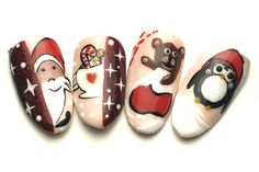 Christmas Nail Art, Foto E Video, Instagram, Pictures