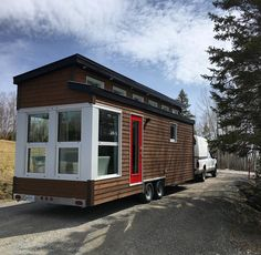 La Contemporaine: a 248 sq ft tiny house from Quebec