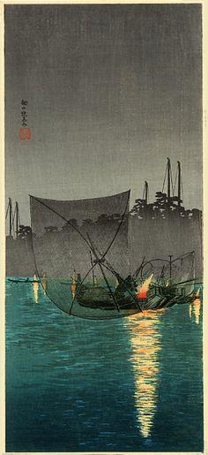 Lights of Shotei 1871-1945 Takahashi Shotei was born in January 1871 in the Asakusa section of Tokyo. His given name was Takahashi Katsutaro...