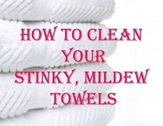 Making towels smell fresh again. Wash your towels in hot water with a cup of vinegar, then run again in hot water with a half-cup of baking soda. That will strip your towels from all of that residue & mildew smell & will actually leave them feeling fluffy & smelling fresh. FOLLOW ME! I am always posting awesome stuff on my timeline! You can find me at https://www.facebook.com/tonya.stairs.5