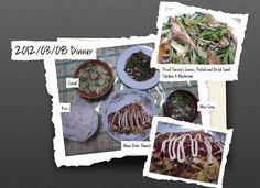 For Dinner on 08 Mar 2012