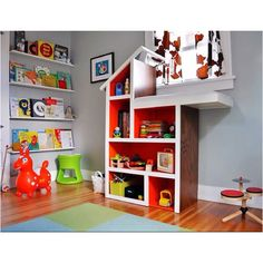 Great toy room idea!!
