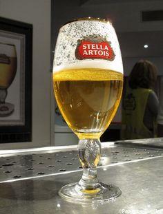 Bière Stella Artois. Only the best at our gatherings.