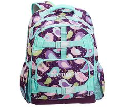 Mackenzie Plum Bird Backpacks | Pottery Barn Kids...Emersyn finally committed to one backpack.....she had about 5 picked out!