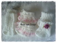 Knitting #pattern #29 (not the knitted #item) 0-3 baby #socks/reborn doll 14-22in,  View more on the LINK: 	http://www.zeppy.io/product/gb/2/381446668775/