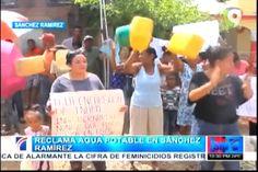 Reclaman Agua Potable En Sánchez Ramírez