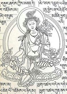 Tibetan Art, India Culture, Gods And Goddesses, Woodblock Print, Alchemy, Chakras, Embroidery Designs, Prayer, Buddha