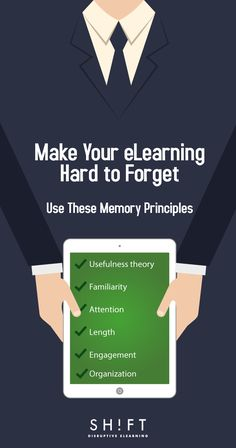 Fostering effective eLearning requires understanding how memory works. Master crucial ways to help learners encode new principles in their brains. This requires a grasp of six premises.
