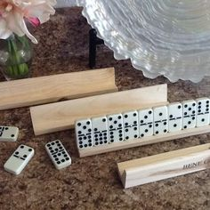 Cuban Party Decorations - Havana Nights Party - Domino Game Sets and Wooden Holders | Yelp