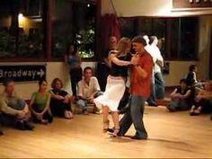 Tango Lesson: Follower Styling in Ocho Cortado - Homer and Lisette