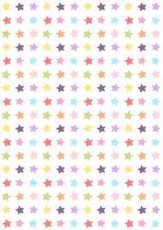 Free digital star candy scrapbooking paper - ausdruckbares Geschenkpapier - freebie   MeinLilaPark – DIY printables and downloads