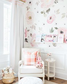 """Monika Hibbs on Instagram: """"We are so excited to announce our nursery winner! Huge congrats to @robynrw... AND baby number 4!! Thank you to everyone who entered & for all the incredibly sweet comments! Special thanks to @oilostudio, you were a dream to work with! #LillyaGraceNursery : @blushwedphotos"""""""