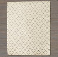 Dara Rug - Ivory - less formal option for the living room or a good option for the guest bedroom