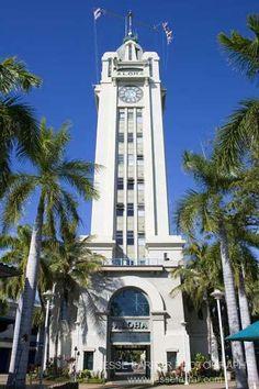 Aloha Tower- Honolulu, Hawaii