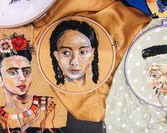 Os bordados de Lisa Smirnova