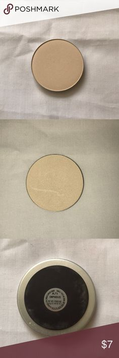 Mac loose pan emphasize powder Mac loose pan emphasize powder. Off white powder with pearl. Gorgeous for setting the under eye or lightly highlighting around the face. Pan is magnetic. MAC Cosmetics Makeup Face Powder