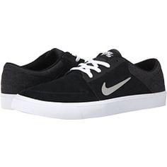 48e2feb8f52c Nike SB Portmore Black White Medium Grey - Zappos.com Free Shipping BOTH  Ways