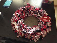 OU Rag Wreath