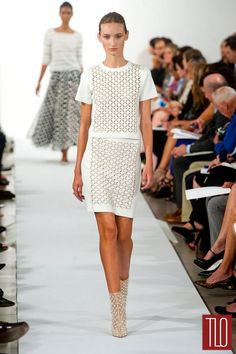 Oscar de la Renta Spring 2014 Collection