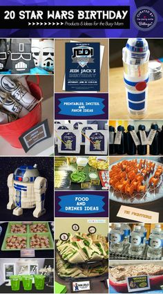 20 Star Wars Party Ideas for the Busy Mom: Creative Products to DIYs | As Featured on the Party Suite at Bellenza. #starwarsparty