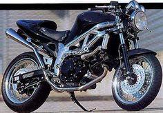 Suzuki SV650 Cafe Racer Bike Image