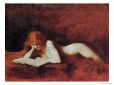 The Reader Giclee Print by Jean-Jacques Henner
