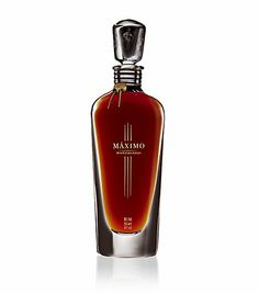 Havana Club Rum Havana Club Maximo - Tasting Note:   An elegant crystal decanter distinguishes this unique, super-premium rum. Máximo Extra Añejo is handcrafted from the finest and oldest reserves from the Havana Club cellars and reveals a palate that is full yet velvety smooth, its cascade of flavours accented by dark chocolate, luscious dried fruits and a hint of vanilla. Irresistible spiciness and persistence mark the extraordinary finish.