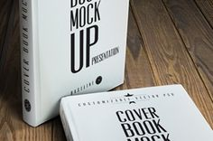 Psd Book Cover Mockup Template