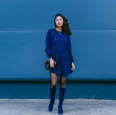 AllBlue.  Samieze from Berlin defines herself as part-time nerd and blogger, and has her own blog...http://tights.fun/allblue/