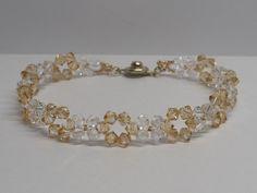 Wedding Jewellery – Bridal Bracelet, Bracelet for bride – a unique product by akcrystalbead on DaWanda