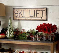 Ski Lift Sign