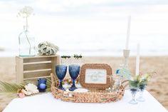 Nautical Beach wedding ideas Photography: Ruth Eileen -  www.MadamPaloozaEmporium.com www.facebook.com/MadamPalooza